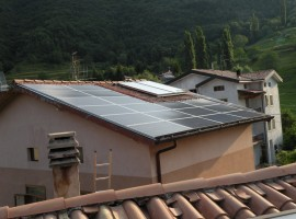 Impianto fotovoltaico 4,50 kWp Provaglio val Sabbia (BS)