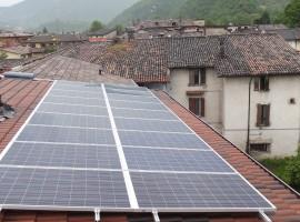 Impianto fotovoltaico 4,50 kWp Sabbio Chiese (BS)