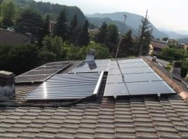 Impianto fotovoltaico 4,50 kWp Sabbio Chiese (BS) ultima generazione