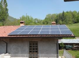 Impianto fotovoltaico 4,50 kWp Serle (BS)