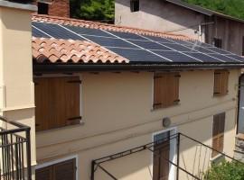 Impianto fotovoltaico 4,50 kWp Villanuova sul Clisi (BS)