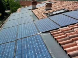 Impianto fotovoltaico 4,56 kWp Sabbio Chiese (BS) innovativo