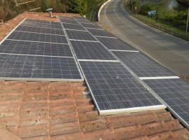 Impianto fotovoltaico 4,56 kWp Sabbio Chiese (BS)