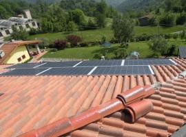 Impianto fotovoltaico 4,75 kWp Provaglio val Sabbia (BS)