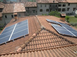 Impianto fotovoltaico 4,80 kWp Barghe (BS)