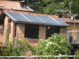 Impianto fotovoltaico 4,80 kWp Provaglio val Sabbia (BS)