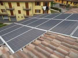 Impianto fotovoltaico 4,80 kWp Sabbio Chiese (BS)