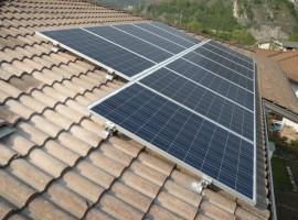 Impianto fotovoltaico 4,80 kWp Sabbio Chiese(BS)