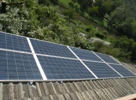 Impianto fotovoltaico 4,80 kWp Vobarno (BS)