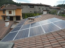 Impianto fotovoltaico 4,80kWp Sabbio Chiese (BS)
