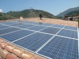 Impianto fotovoltaico 4,83 kWp Sabbio Chiese (BS)