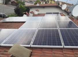Impianto fotovoltaico 4,90 kWp Montichiari (BS)