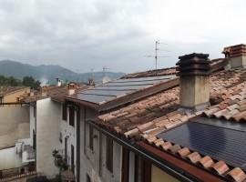 Impianto fotovoltaico 5,00 kWp Odolo (BS) innovativo