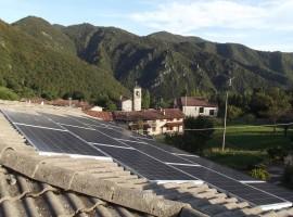 Impianto fotovoltaico 5,00 kWp Provaglio val Sabbia (BS)