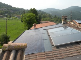 Impianto fotovoltaico 5,00 kWp Sabbio Chiese (BS) innovativo