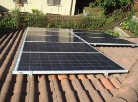 Impianto fotovoltaico 5,00 kWp Vestone (BS)