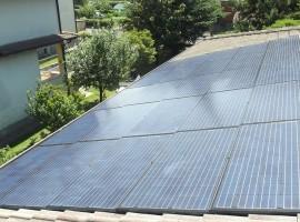 Impianto fotovoltaico 5,00 kWp Vobarno (BS) innovativo