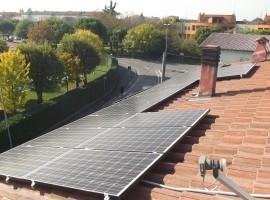 Impianto fotovoltaico 5,13 kWp Roncadelle (BS)