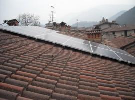 Impianto fotovoltaico 5,17kWp Sabbio Chiese (BS)