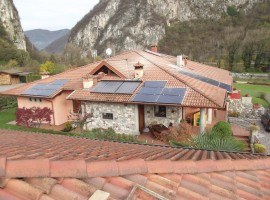 Impianto fotovoltaico 5,22 kWp Barghe (BS) Vision