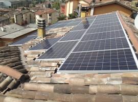 Impianto fotovoltaico 5,75 kWp Odolo (BS) ultima generazione