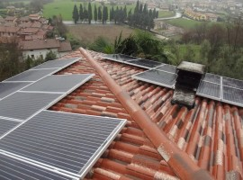 Impianto fotovoltaico 5,88 kWp Gavardo (BS) ultima generazione