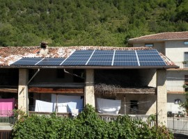 Impianto fotovoltaico 6,00 Provaglio val Sabbia (BS)