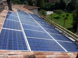 Impianto fotovoltaico 6,00 kWp Casto (BS)