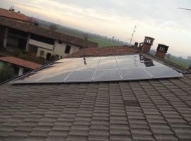 Impianto fotovoltaico 6,00 kWp Cazzago San Martino (BS) Vision