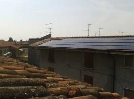 Impianto fotovoltaico 6,00 kWp Leno (BS) innovativo