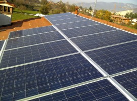 Impianto fotovoltaico 6,00 kWp Mazzano (BS)