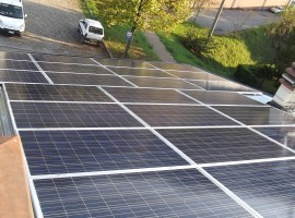 Impianto fotovoltaico 6,00 kWp Odolo (BS)