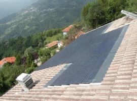 Impianto fotovoltaico 6,00 kWp Pertica Alta (BS) innovativo