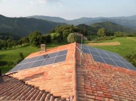 Impianto fotovoltaico 6,00 kWp Provaglio vS (BS)