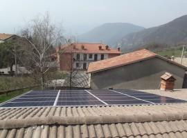 Impianto fotovoltaico 6,00 kWp Provaglio val Sabbia (BS)