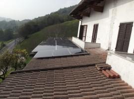 Impianto fotovoltaico 6,00 kWp Vestone (BS) Vision vetro-vetro