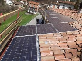 Impianto fotovoltaico 6,00 kWp a Provaglio val Sabbia (BS)