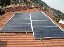 Impianto fotovoltaico 6,37 kWp Villanuova sul Clisi (BS)