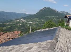 Impianto fotovoltaico 6,40 kWp Pertica Alta (BS) innovativo