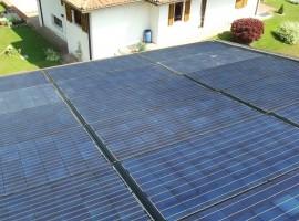 Impianto fotovoltaico 6,40 kWp Vobarno (BS) caratt. innovative