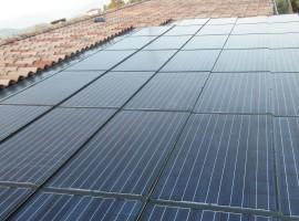 Impianto fotovoltaico 6,46 kWp Manerba del Garda (BS) caratt. innovative