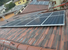 Impianto fotovoltaico 6,58 kWp Casto (BS)