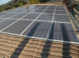Impianto fotovoltaico 6,58 kWp Casto(BS)