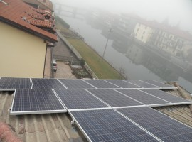 Impianto fotovoltaico 6,58 kWp Gavardo (BS)