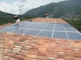 Impianto fotovoltaico 6,58 kWp Preseglie (BS)