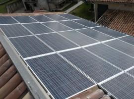 Impianto fotovoltaico 6,58 kWp Provaglio Val Sabbia (BS)