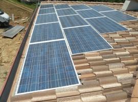 Impianto fotovoltaico 6,58 kWp Vallio Terme  (BS)