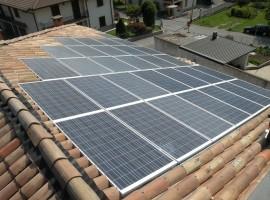 Impianto fotovoltaico 6,60 kWp Sabbio Chiese (BS)