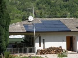Impianto fotovoltaico 6,60 kWp Vallio Terme (BS) innovativo