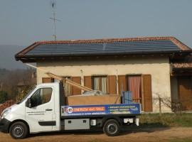 Impianto fotovoltaico 7,02 kWp Gavardo (BS) innovativo